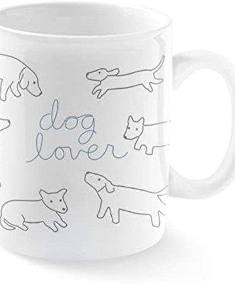 Fringe Mug Jumbo Dog Lover