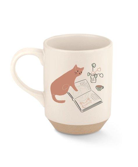 Fringe Mug NYC coffee cat