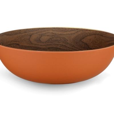 ICM Large Bowl 30cm - Walnut and brick