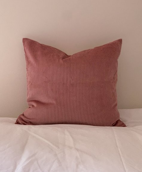 À la maison co Corduroy Cushion - Pink