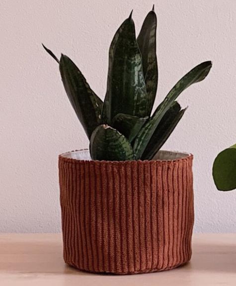 À la maison co Mini Corduroy Basket - Rust