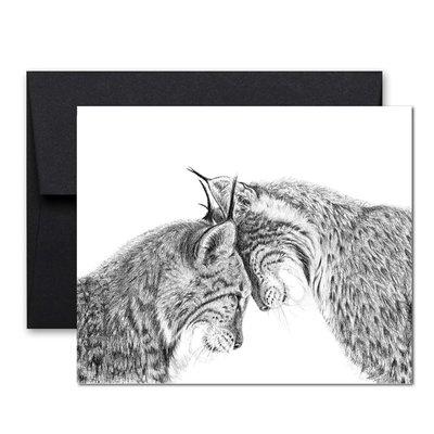 Le Nid Carte de souhaits - Lynx