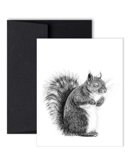 Le Nid Greeting Card - Squirrel