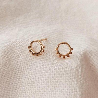 Mimi - Auguste Earrings - Jimma Gold