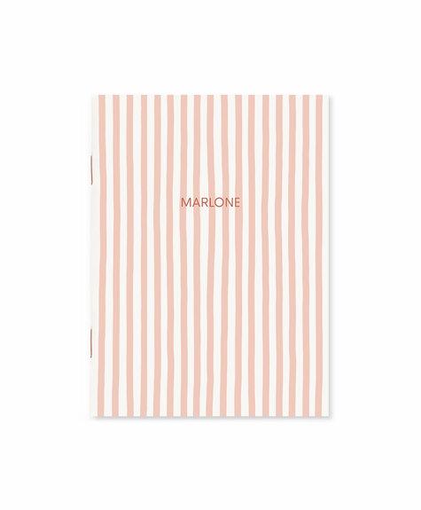Marlone Pocket notebook - Blush