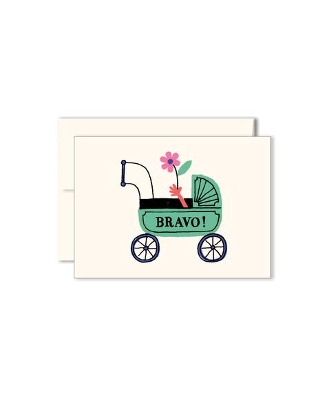 Paperole Mini Carte Poussette