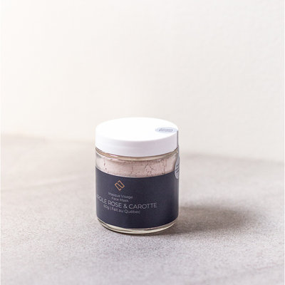 Deux Cosmétiques Pink Clay and Carrot Mask