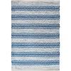 Avocado Decor Cotton rug - Arrow blue - 2x3