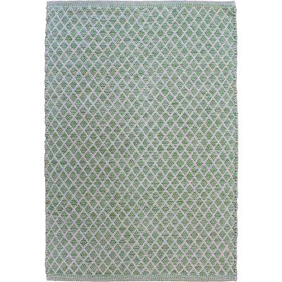 Avocado Decor Cotton rug - Maywood vine green - 2x3