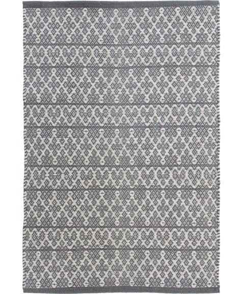 Avocado Decor Cotton rug - Jazzy Pewter - 2x3