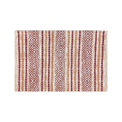 Avocado Decor Cotton rug - Fusion rouge - 2x3
