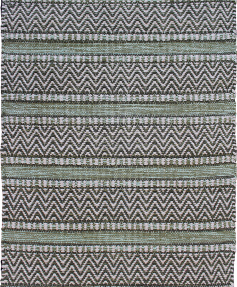 Avocado Decor Cotton rug - Largo green - 2x3