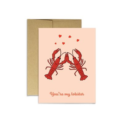 Party Mountain Paper Carte de souhaits - You're my lobster
