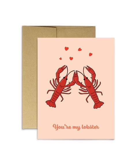 Party Mountain Paper Greeting card - You're my lobster