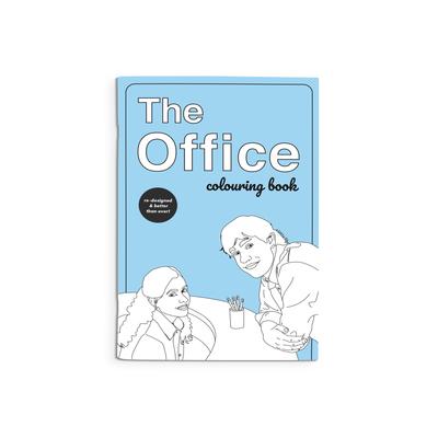 Party Mountain Paper Cahier de coloriage - The Office