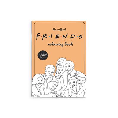 Party Mountain Paper Cahier de coloriage - Friends