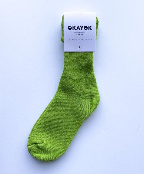 OKAYOK Chaussette Okay - Vert Lime