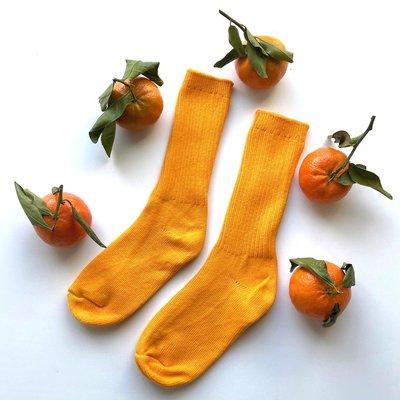 OKAYOK Socks Okay - Tangerine