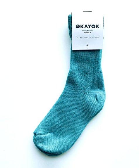OKAYOK Socks Okay - Teal