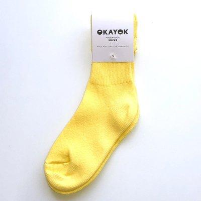 OKAYOK Socks Okay - Limoncello