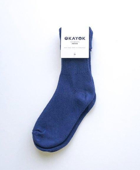 OKAYOK Socks Okay - Blueberry