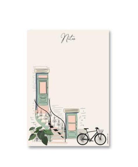 Lili Graffiti Bloc notes -  Escalier