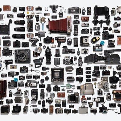Divers Puzzle - Casse-tête Camera Collection (500 pièces)