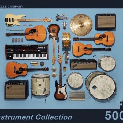 Divers Puzzle - Casse-tête Instruments collection (500 pièces)