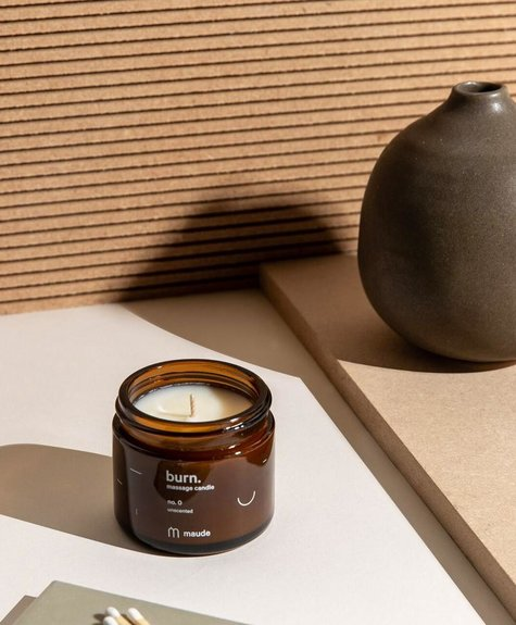Maude Soy oil massage candle - No 0