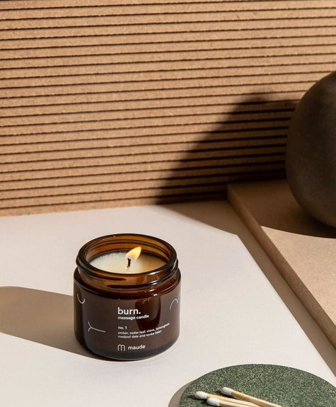 Maude Soy oil massage candle - No 1