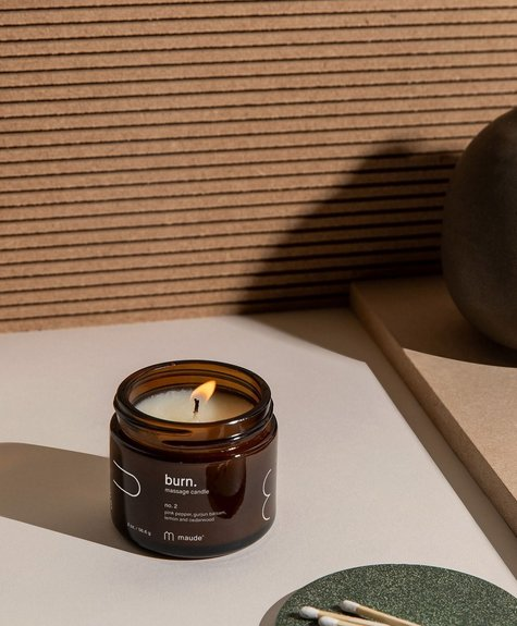 Maude Soy oil massage candle - No 2