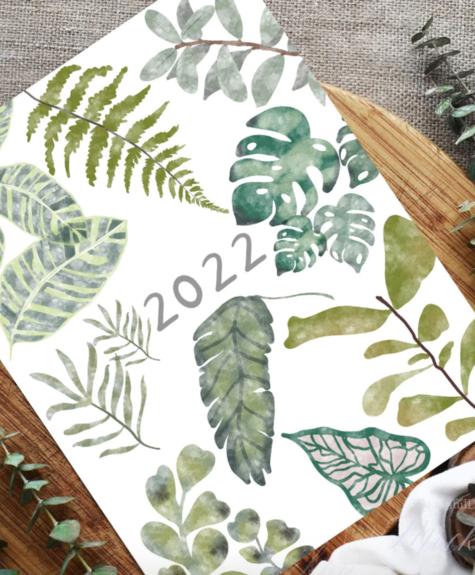 Glenda Cast Calendrier plantes 2022