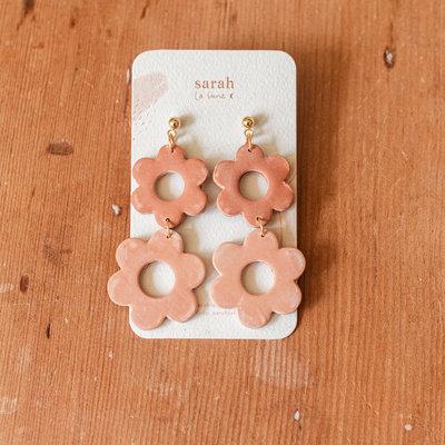Sarah La Lune Earrings Sarah - Big daisies