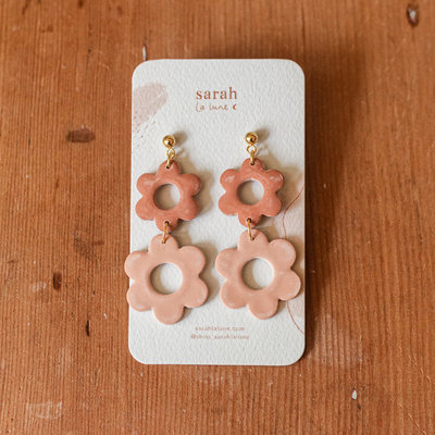 Sarah La Lune Earrings Sarah - Small daisies