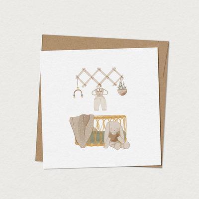 Mimosa Greeting Card Mim - Charlie's Cradle