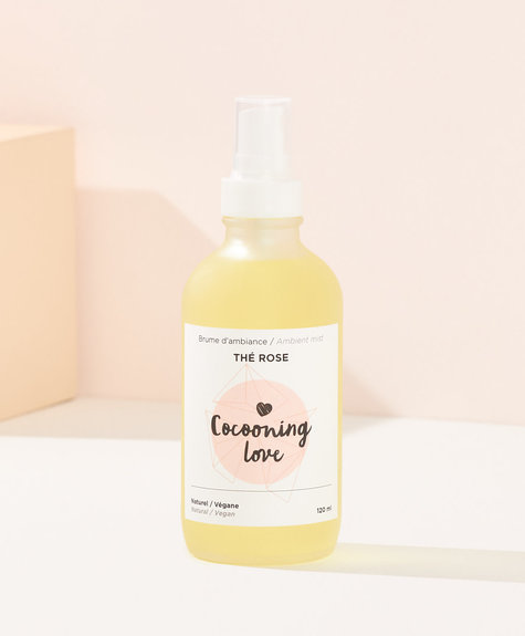 Cocooning Love Brume ambiance Thé Rose