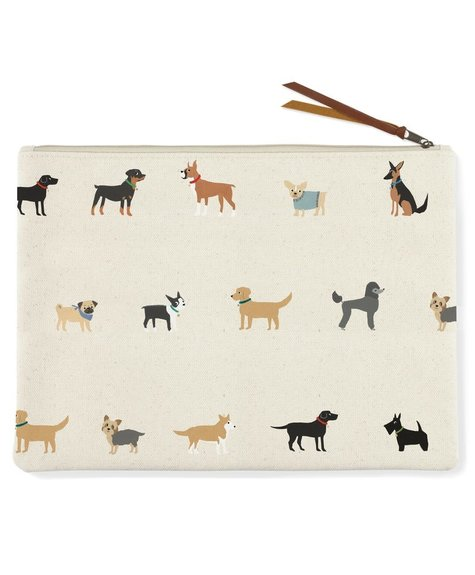 Fringe Happy Dogs Pouch - L