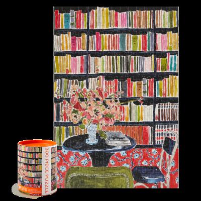 Paper E. Clips Puzzles - Livres et Fleurs 300pcs