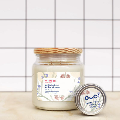 BB Berries - Amber - Musk candle