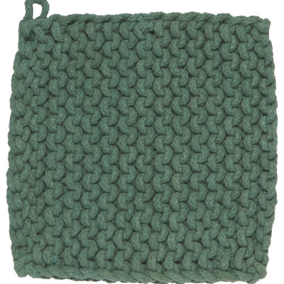 Danica Pot Holders - Knit Jade