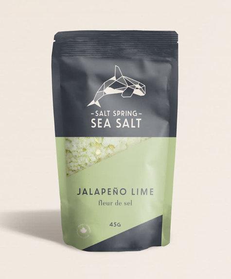 Sea Salt Spring Fleurs de sel -  Jalapeño - Lime