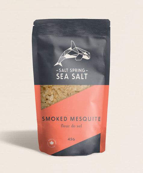 Sea Salt Spring Fleurs de sel -  Mesquite fumé