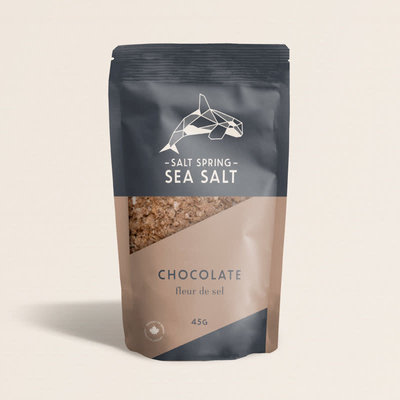 Sea Salt Spring Fleurs de sel -  Chocolat