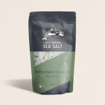 Sea Salt Spring Fleurs de sel -  Romarin - ail
