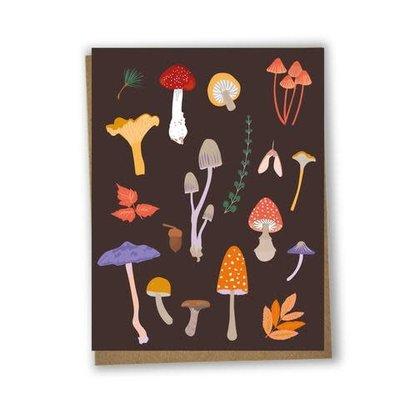 Lili Graffiti Mushrooms