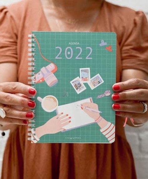 Lili Graffiti 2022 Planner - Lili