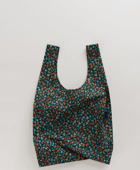 Baggu Baggu Bag -  Black Calico Floral