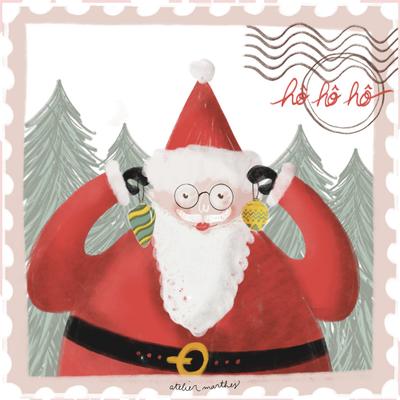 Atelier Marthes Carte Marthes - Père Noël