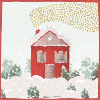 Atelier Marthes Carte Marthes - Maison Noël