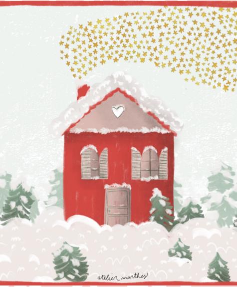 Atelier Marthes Copy of Carte Marthes - Père Noël